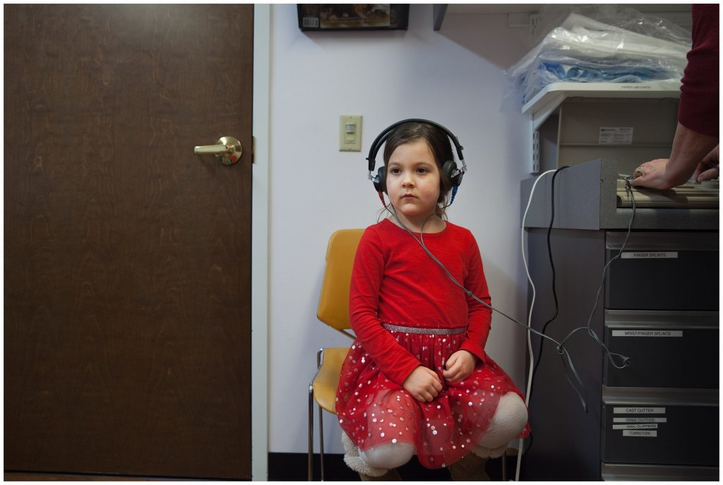 Getting a hearing test
