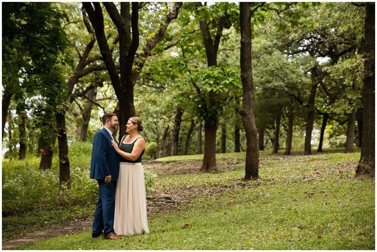 Wedding photos at Hoyt park