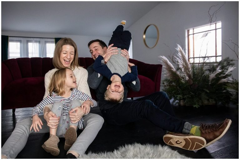 family love for holiday photos